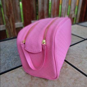Jeffree Star Pink Logo Cosmetics Bag